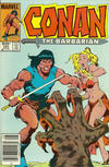 Cover for Conan the Barbarian (Marvel, 1970 series) #161 [Newsstand]