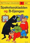 Cover for Walt Disney's månedshefte (Hjemmet / Egmont, 1967 series) #1/1967