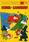 Cover for Walt Disney's månedshefte (Hjemmet / Egmont, 1967 series) #7/1967
