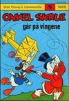 Cover for Walt Disney's månedshefte (Hjemmet / Egmont, 1967 series) #9/1969