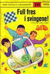 Cover for Walt Disney's månedshefte (Hjemmet / Egmont, 1967 series) #10/1969