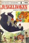 Cover for Walt Disney's månedshefte (Hjemmet / Egmont, 1967 series) #1/1969