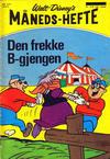 Cover for Walt Disney's månedshefte (Hjemmet / Egmont, 1967 series) #2/1971