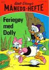 Cover for Walt Disney's Månedshefte (Hjemmet / Egmont, 1967 series) #6/1971