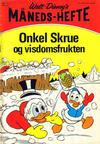 Cover for Walt Disney's Månedshefte (Hjemmet / Egmont, 1967 series) #11/1972
