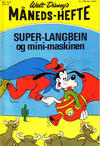 Cover for Walt Disney's Månedshefte (Hjemmet / Egmont, 1967 series) #10/1972