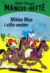 Cover for Walt Disney's Månedshefte (Hjemmet / Egmont, 1967 series) #2/1972