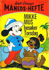 Cover for Walt Disney's Månedshefte (Hjemmet / Egmont, 1967 series) #10/1971