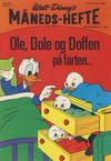 Cover for Walt Disney's månedshefte (Hjemmet / Egmont, 1967 series) #8/1970
