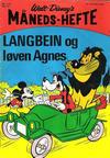 Cover for Walt Disney's Månedshefte (Hjemmet / Egmont, 1967 series) #7/1970
