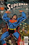 Cover for Superman: The Man of Steel (DC, 1991 series) #31 [Newsstand Edition]