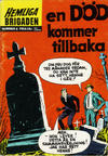 Cover for Hemliga brigaden (Williams Förlags AB, 1965 series) #8