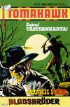 Cover for Tomahawk (Semic, 1982 series) #12/1982
