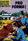 Cover for Geheime Brigade (Classics/Williams, 1965 series) #1317