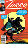 Cover for Zorro (Marvel, 1990 series) #1 [Newsstand]