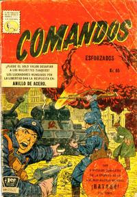 Cover Thumbnail for Comandos Esforzados (Editora de Periódicos La Prensa S.C.L., 1956 series) #65