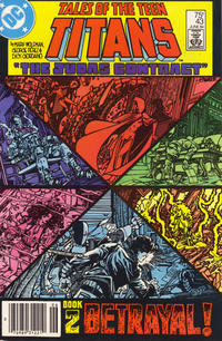 Cover Thumbnail for Tales of the Teen Titans (DC, 1984 series) #43 [Newsstand]