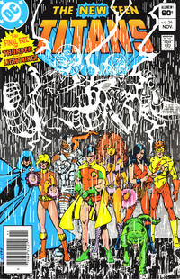 Cover Thumbnail for The New Teen Titans (DC, 1980 series) #36 [Newsstand]