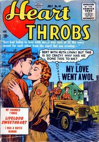 Cover Thumbnail for Heart Throbs (Quality Comics, 1949 series) #44