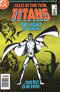 Cover Thumbnail for Tales of the Teen Titans (DC, 1984 series) #49 [Newsstand]