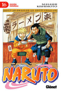 Cover for Naruto (Ediciones Glénat, 2002 series) #16
