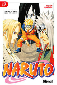 Cover Thumbnail for Naruto (Ediciones Glénat, 2002 series) #19