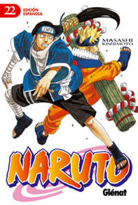 Cover Thumbnail for Naruto (Ediciones Glénat, 2002 series) #22