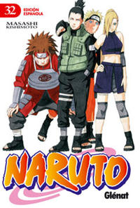 Cover Thumbnail for Naruto (Ediciones Glénat, 2002 series) #32