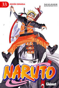 Cover Thumbnail for Naruto (Ediciones Glénat, 2002 series) #33