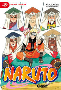 Cover Thumbnail for Naruto (Ediciones Glénat, 2002 series) #49