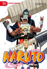 Cover Thumbnail for Naruto (Ediciones Glénat, 2002 series) #50