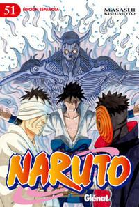 Cover Thumbnail for Naruto (Ediciones Glénat, 2002 series) #51