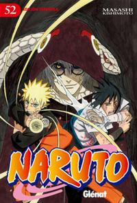 Cover Thumbnail for Naruto (Ediciones Glénat, 2002 series) #52