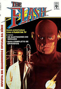 Cover Thumbnail for The Flash - Revista em Quadrinhos Oficial da Série (Editora Abril, 1992 series)