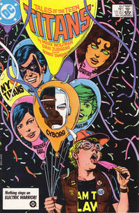 Cover Thumbnail for Tales of the Teen Titans (DC, 1984 series) #65 [Direct Sales]