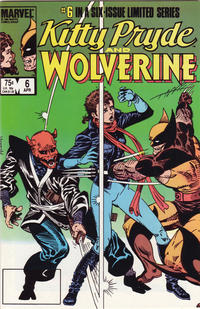 Cover Thumbnail for Kitty Pryde and Wolverine (Marvel, 1984 series) #6 [Empty UPC Box]