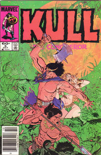 Cover Thumbnail for Kull the Conqueror (Marvel, 1983 series) #6 [Newsstand Edition]