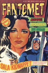 Cover Thumbnail for Fantomet (Semic, 1976 series) #20/1982