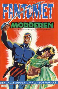 Cover Thumbnail for Fantomet (Semic, 1976 series) #21/1982