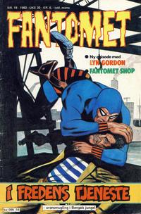Cover Thumbnail for Fantomet (Semic, 1976 series) #18/1982