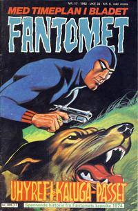 Cover Thumbnail for Fantomet (Semic, 1976 series) #17/1982