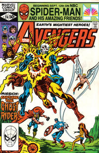 Cover Thumbnail for The Avengers (Marvel, 1963 series) #214 [Direct Edition]