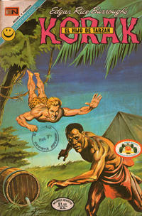 Cover Thumbnail for Korak (Editorial Novaro, 1972 series) #4
