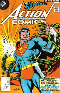 Cover Thumbnail for Action Comics (DC, 1938 series) #485 [Whitman cover]