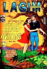 Cover Thumbnail for Lagim Komiks (G. Miranda & Sons, 1960 series) #394