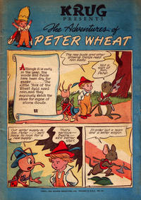 Cover Thumbnail for The Adventures of Peter Wheat (Peter Wheat Bread and Bakers Associates, 1948 series) #22