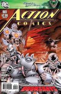 Cover Thumbnail for Action Comics (DC, 1938 series) #901 [Dan Jurgens Variant]