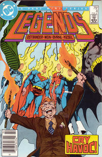 Cover Thumbnail for Legends (DC, 1986 series) #4 [Newsstand]