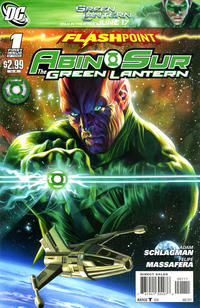Cover Thumbnail for Flashpoint: Abin Sur - The Green Lantern (DC, 2011 series) #1
