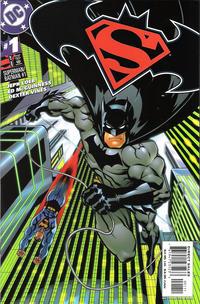 Cover Thumbnail for Superman / Batman (DC, 2003 series) #1 [Batman Cover]